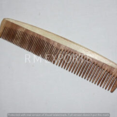 Neem Wood Comb - Fine & Coarse Teeth
