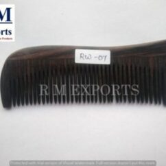 Rosewood & Other Wood Comb