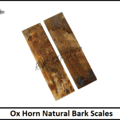 Ox Horn Bark Scales