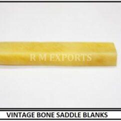 Vintage Bone Saddle Blanks