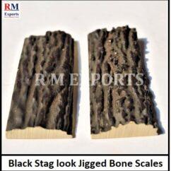 Black Stag look Scales