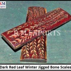 Winter Leaf Jigged Scales