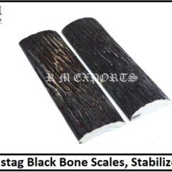 Imistag Black Jigged Scales