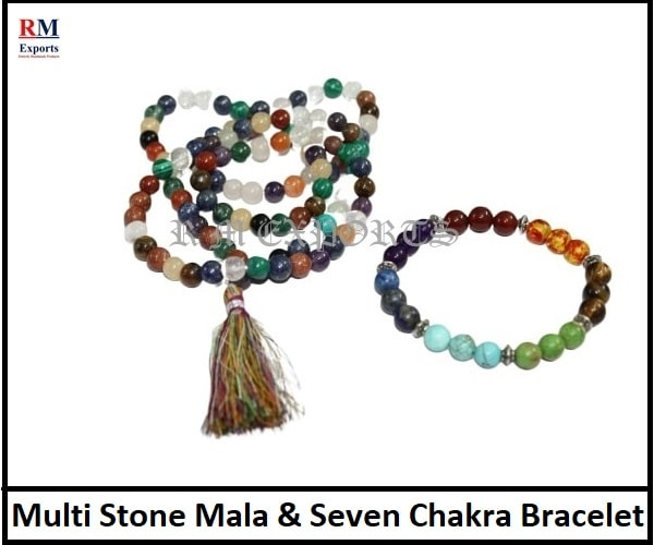 Multi Stone Japa Mala & Seven Chakra Bracelet-min.jpg