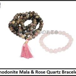 Rhodonite Mala & Rose Quartz Bracelet-min.jpg