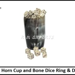 Ox Horn Cup and Bone Dice Ring & Dot.jpg