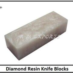 Diamond Resin Knife Blocks