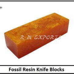 Fossil Wood Resin Blocks