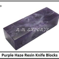 Purple Haze Resin Blocks