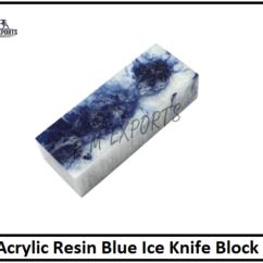 Blue Ice Resin Blocks
