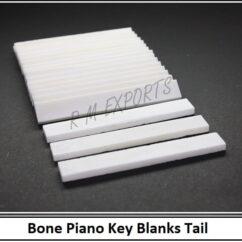 Bone Piano Keys Tails