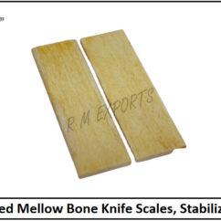 Mellow Bone Knife Scales